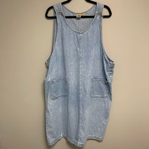 Vintage Women's Plus Size Denim Jean Dress